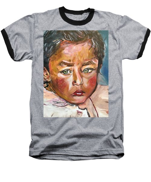 Heal The World Baseball T-Shirt