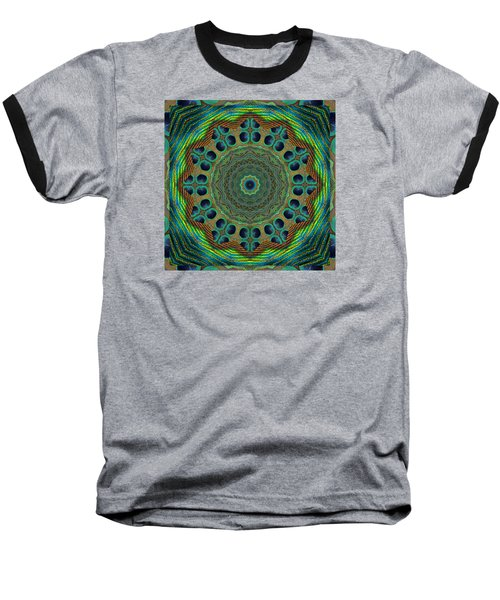 Healing Mandala 19 Baseball T-Shirt