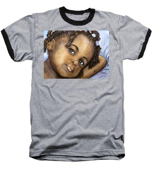 Nigerian Eyes Baseball T-Shirt