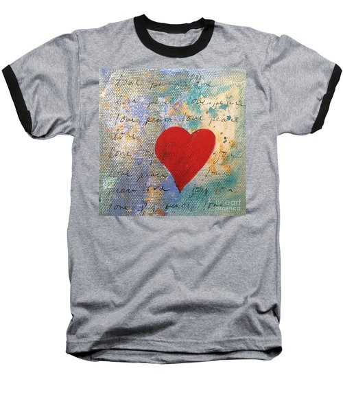 Heart #9 Baseball T-Shirt