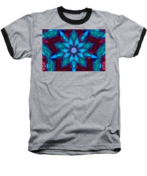 Heart Flower Baseball T-Shirt