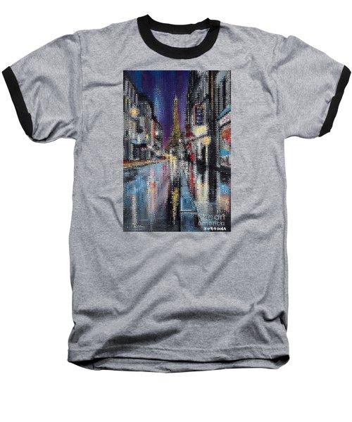 Heart Of Paris Baseball T-Shirt by Dragica  Micki Fortuna