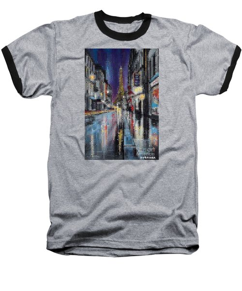 Heart Of Paris Baseball T-Shirt