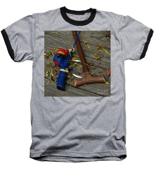 Heart Strings Baseball T-Shirt by Peter Piatt