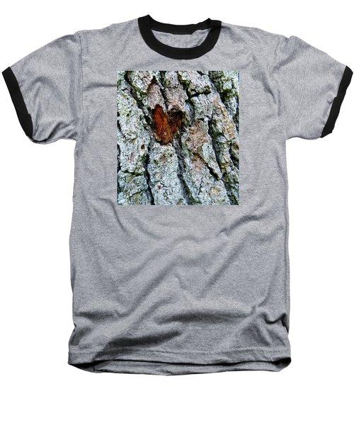 Baseball T-Shirt featuring the photograph Heart Wood by Joy Hardee