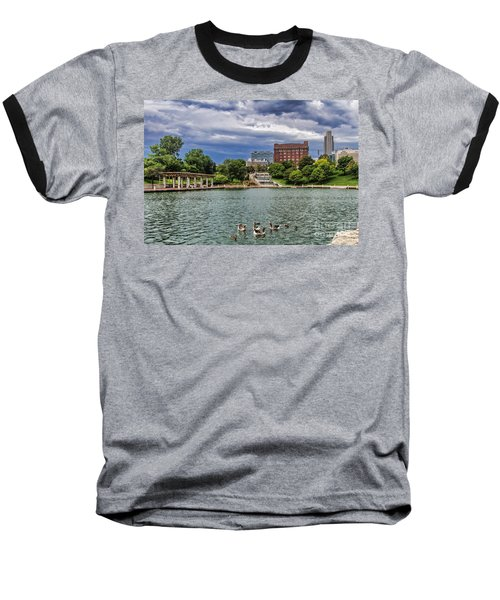 Heartland Of America Park Baseball T-Shirt