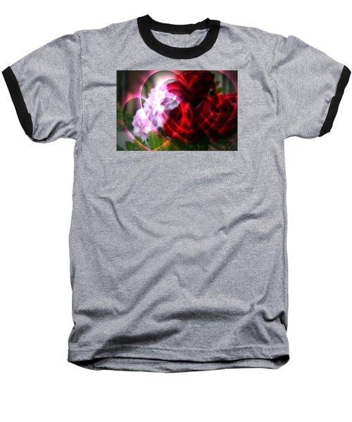 Hearts A Fire Baseball T-Shirt