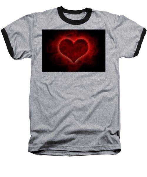 Heart's Afire Baseball T-Shirt