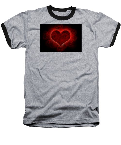Heart's Afire Baseball T-Shirt