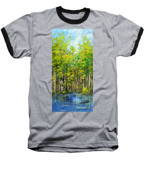 Heat Of Summer Baseball T-Shirt by Tatiana Iliina