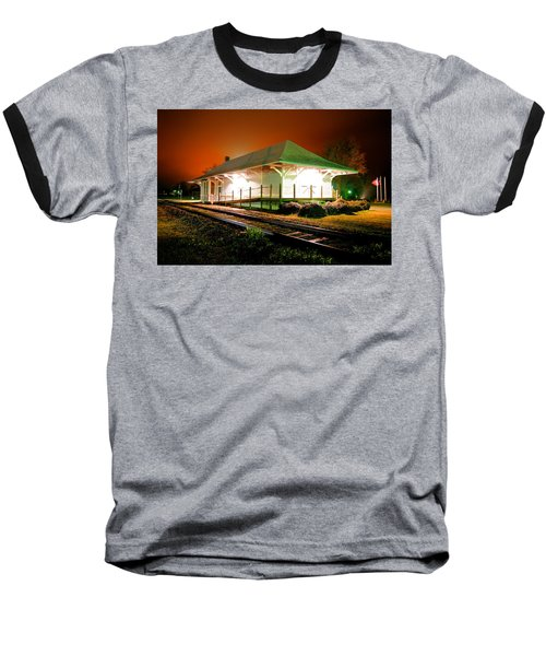 Heath Springs Depot Baseball T-Shirt