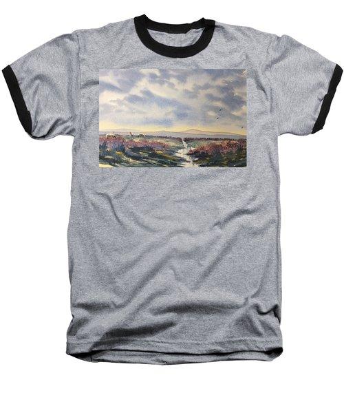 Heather On The Road To Fairy Plain  Baseball T-Shirt