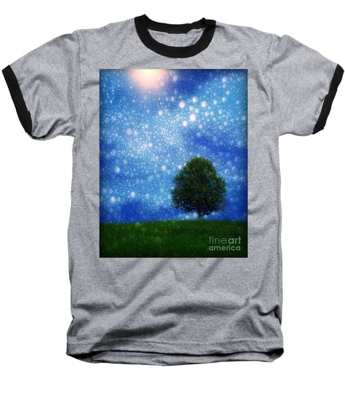 Heaven And Earth Baseball T-Shirt