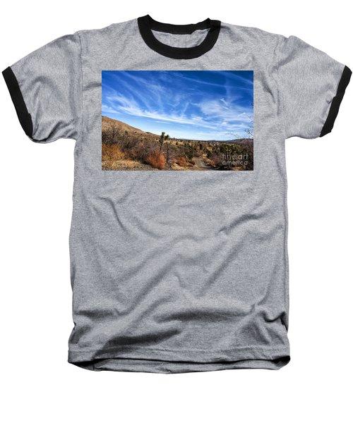 Heaven Baseball T-Shirt by Angela J Wright