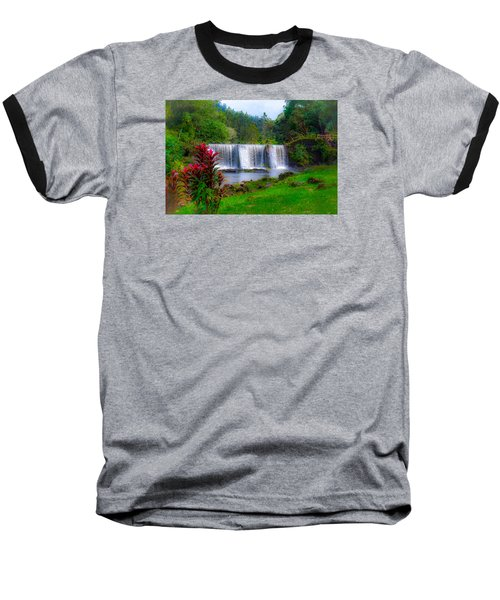 Heaven In The Woods Baseball T-Shirt