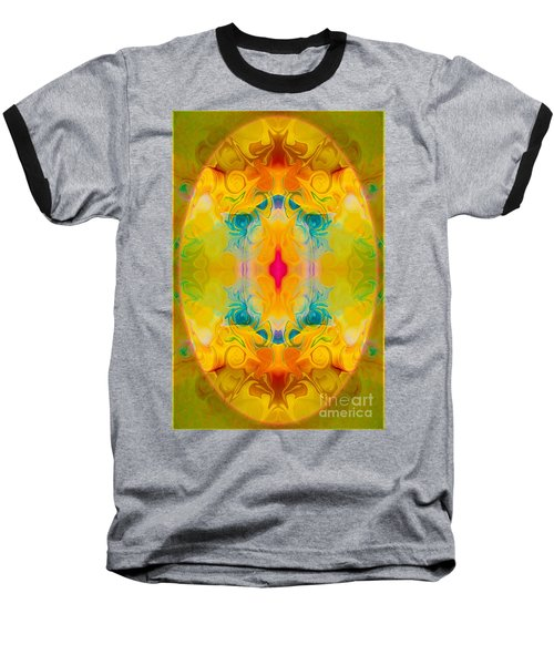Heavenly Bliss Abstract Healing Artwork By Omaste Witkowski  Baseball T-Shirt