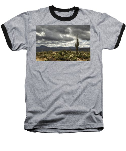 Heavenly Desert Skies  Baseball T-Shirt by Saija  Lehtonen