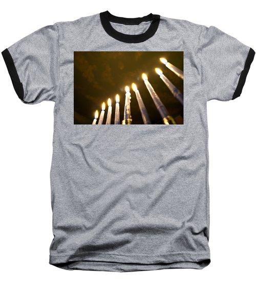 Heavenly Lights Baseball T-Shirt by Tikvah's Hope