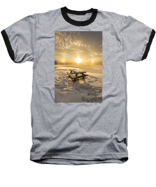 Baseball T-Shirt featuring the photograph Heavenly Sleep by Rose-Maries Pictures