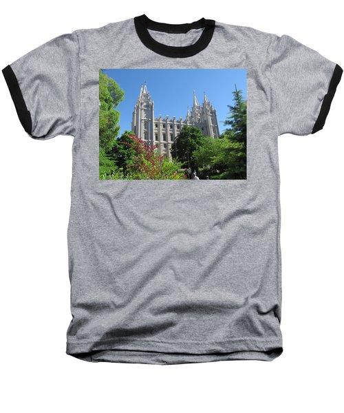 Heavenly Spires Baseball T-Shirt