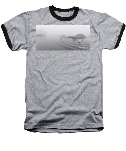 Heavy Fog And Gentle Ripples Baseball T-Shirt