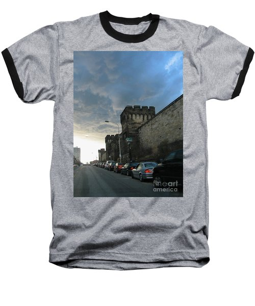 Heavy Weather Over Eastern State Baseball T-Shirt
