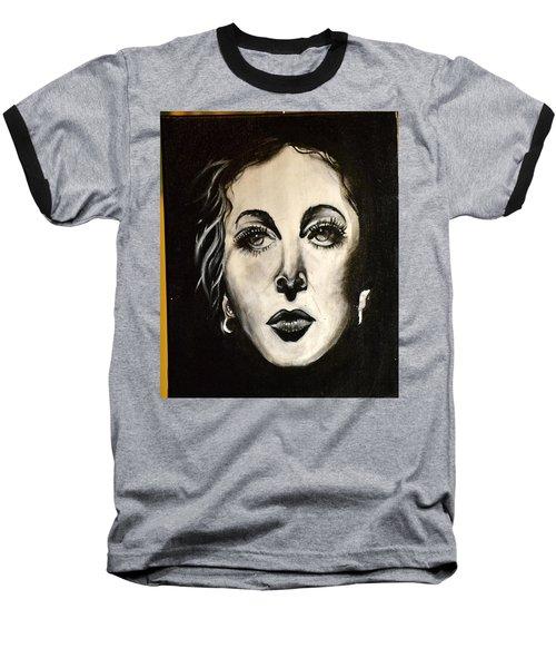 Baseball T-Shirt featuring the painting Hedi by Sandro Ramani