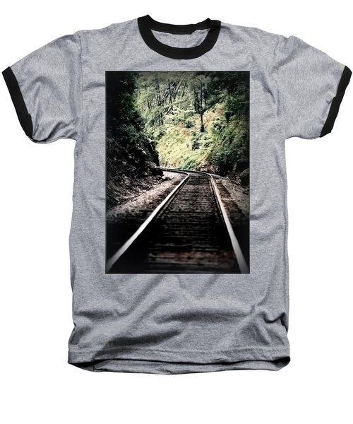Hegia Burrow Railroad Tracks  Baseball T-Shirt