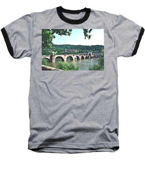 Heidelberg Schloss Overlooking The Neckar Baseball T-Shirt