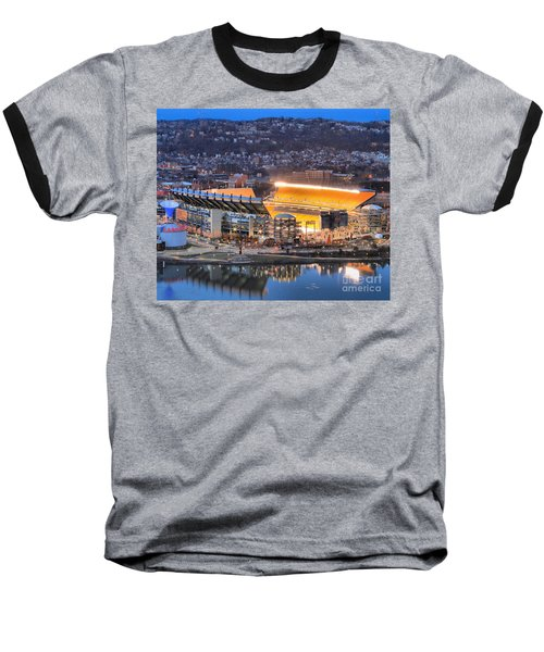 Heinz Field At Night Baseball T-Shirt