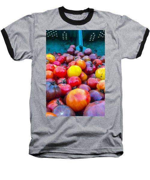 Heirloom Tomatoes V. 2.0 Baseball T-Shirt