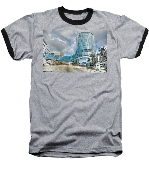 Baseball T-Shirt featuring the photograph Helen Devos Hospital by Robert Pearson