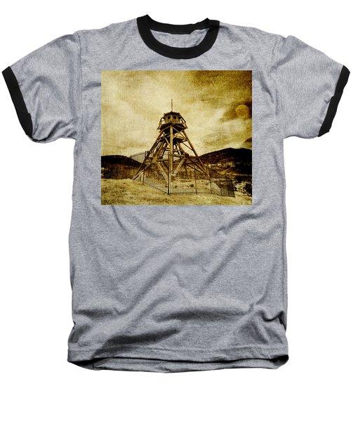 Helena-montana-fire Tower Baseball T-Shirt