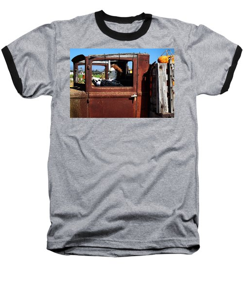 Baseball T-Shirt featuring the photograph Hell Bent To Market by Michael Gordon