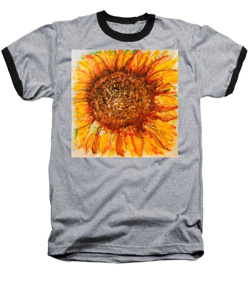 Hello Sunflower Baseball T-Shirt