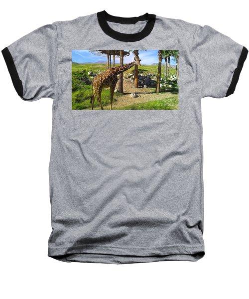 Hello There Baseball T-Shirt by Chris Tarpening