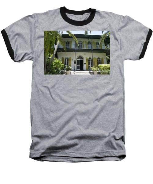 Hemingway's Hideaway Baseball T-Shirt by Laurie Perry