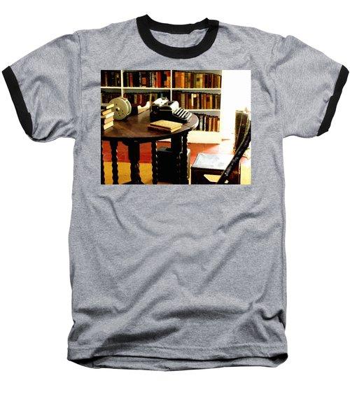 Hemingway's Studio Ernest Hemingway Key West Baseball T-Shirt