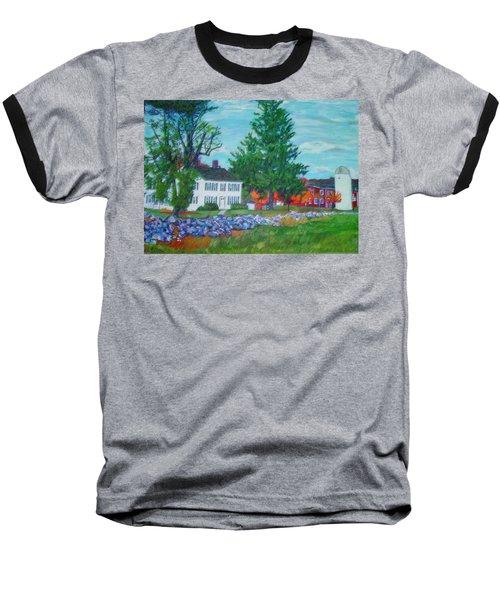Henry Warren House And Barn Baseball T-Shirt