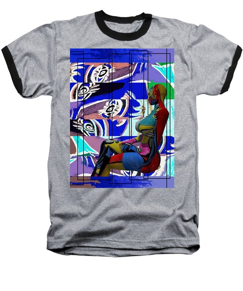 Her Abstract Journey Baseball T-Shirt