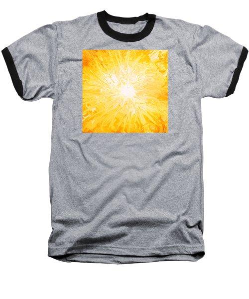 Here Comes The Sun Baseball T-Shirt by Kume Bryant