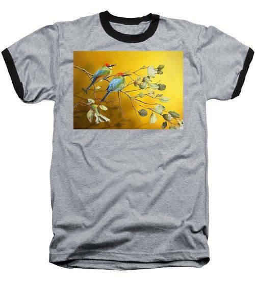 Here Comes The Sun - Rainbow Bee-eaters Baseball T-Shirt