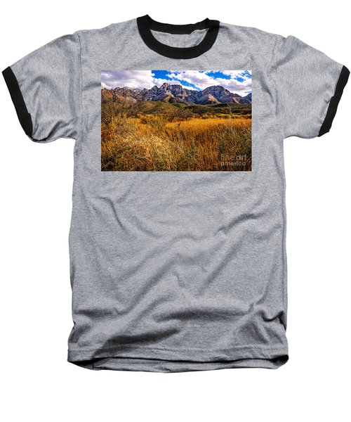 Baseball T-Shirt featuring the photograph Here To There by Mark Myhaver
