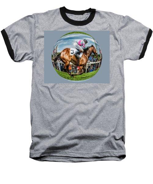 Here We Go Round In Circles Baseball T-Shirt