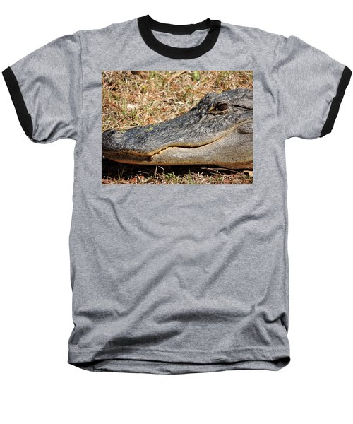 Heres Looking At You Baseball T-Shirt by Kim Pate