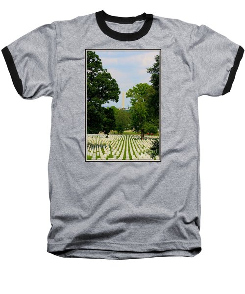 Baseball T-Shirt featuring the photograph Heroes And A Monument by Patti Whitten