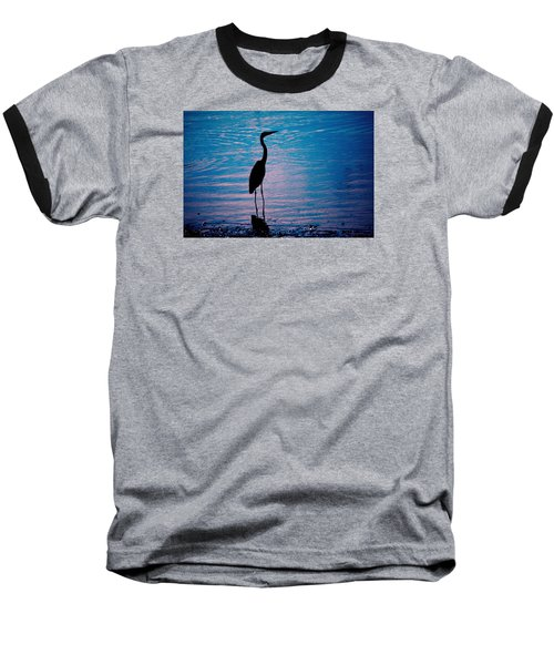Herons Moment Baseball T-Shirt