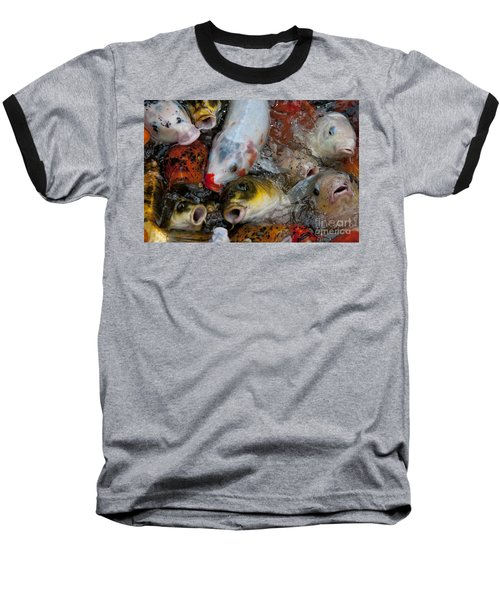 Baseball T-Shirt featuring the photograph Hey Whats Happening by Wilma  Birdwell