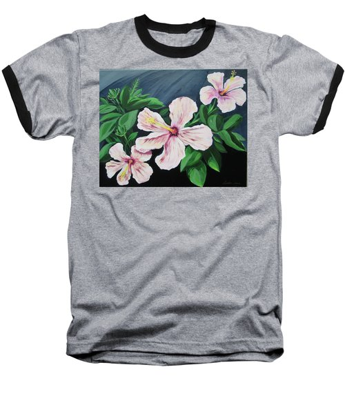 Hibiscus No. 1 Baseball T-Shirt