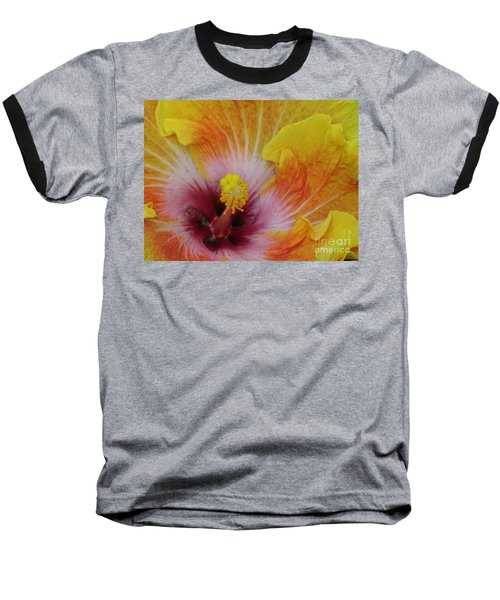 Baseball T-Shirt featuring the photograph Hibiscus by Tam Ryan